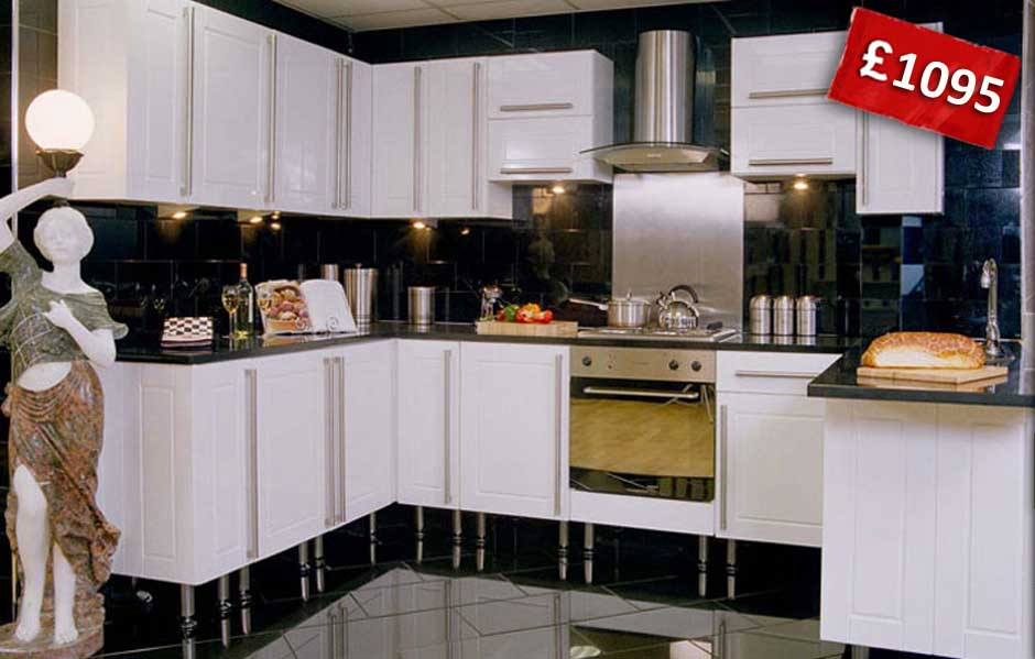 Full Kitchen Design Now For £1095