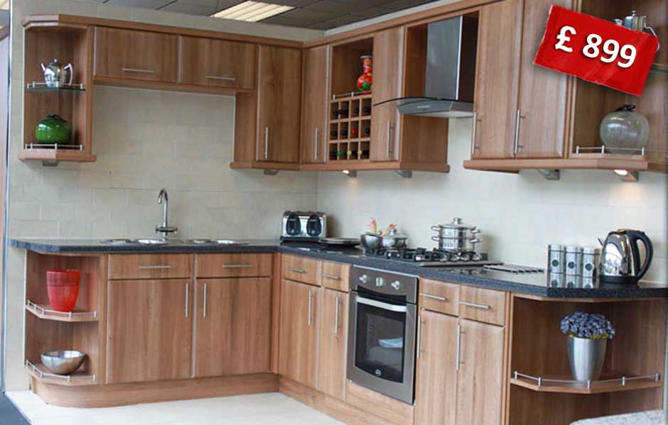 Walnut Kitchen at Amazing Prices!