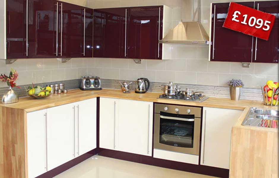 High Gloss Kitchens On Offer